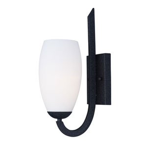 Taylor Textured Black One-Light Wall Sconce