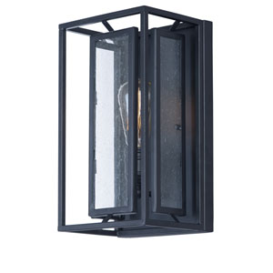 Era Black One-Light Wall Sconce