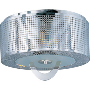 Mirage Three-Light Flush Mount