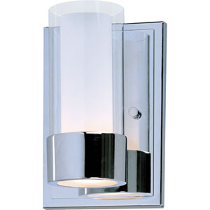 Silo Polished Chrome One-Light Wall Sconce