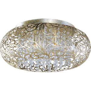 Arabesque Seven-Light Flush Mount