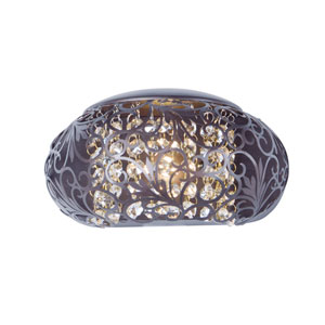 Arabesque Oil Rubbed Bronze One-Light Xenon Wall Sconce