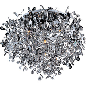 Comet Seven-Light Flush Mount
