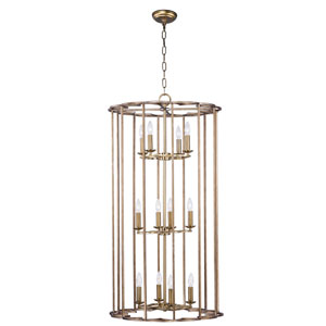 Helix Bronze Fusion 12-Light Pendant