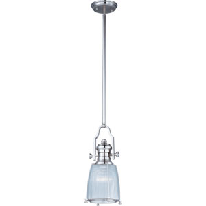 Hi-Bay Satin Nickel One-Light Pendant