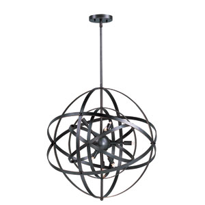Sputnik Bronze Rupert Six-Light Single Pendant