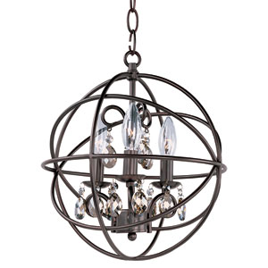 Orbit Oil Rubbed Bronze Three Light Pendant