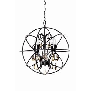 Orbit Oil Rubbed Bronze Four Light Pendant