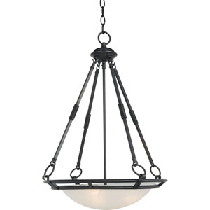Bronze Stratus Four-Light Pendant
