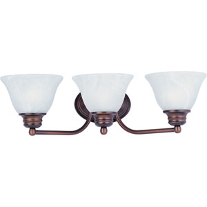 Orleans Oil Rubbed Bronze Three-Light Bath Fixture