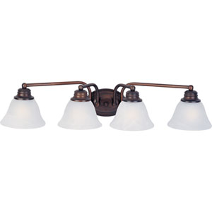 Orleans Oil Rubbed Bronze Four-Light Bath Fixture