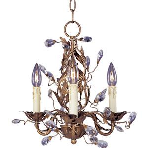 Elegante Three-Light Chandelier
