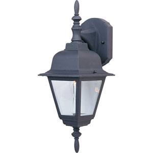 Builder Cast Black One-Light Outdoor Sixteen-Inch Wall Sconce