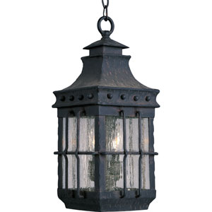 Caged Outdoor Pendant