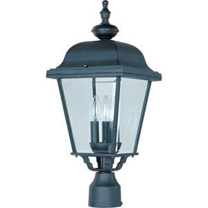 Builder Cast Three-Light Outdoor Pole/Post Lantern
