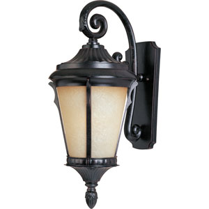 Espresso Odessa One-Light Outdoor Wall Lantern