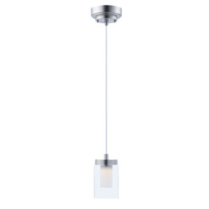 Mod Satin Nickel LED Mini Pendant