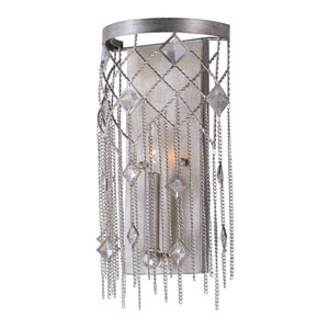 Alessandra Silver Mist One-Light Wall Sconce