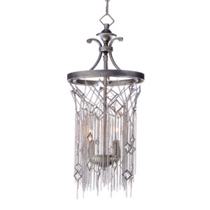 Alessandra Silver Mist Two-Light Pendant