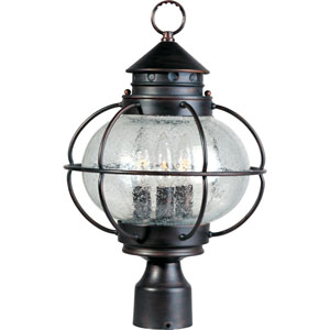 Portsmouth Three-Light Outdoor Post Mount