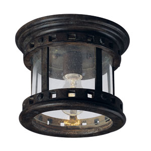 Santa Barbara Outdoor Flush Mount Ceiling Light