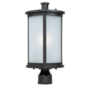 Terrace Bronze One-Light Outdoor Post