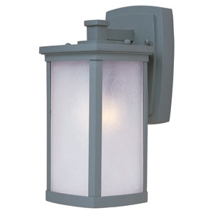 Terrace Platinum One-Light Five-Inch Outdoor Wall Sconce