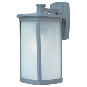 Terrace Platinum One-Light Eight-Inch Outdoor Wall Sconce