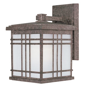 Sienna Earth Tone One-Light Seven-Inch Outdoor Wall Sconce