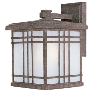 Sienna Earth Tone One-Light Nine-Inch Outdoor Wall Sconce