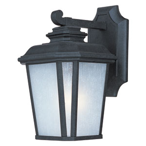 Radcliffe Black Oxide One-Light Eleven-Inch Outdoor Wall Sconce