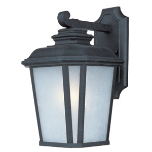 Radcliffe Black Oxide One-Light Fourteen-Inch Outdoor Wall Sconce