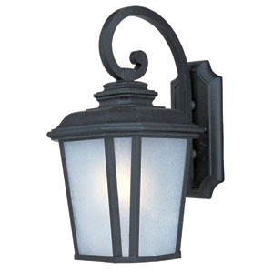 Radcliffe Black Oxide One-Light Sixteen-Inch Outdoor Wall Sconce