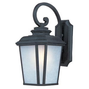 Radcliffe Black Oxide One-Light Twenty-Inch Outdoor Wall Sconce