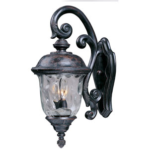 Carriage House DC Oriental Bronze Two-Light Outdoor Wall Mount