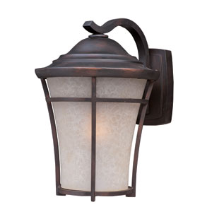 Balboa DC Copper Oxide One-Light Ten-Inch Outdoor Wall Sconce