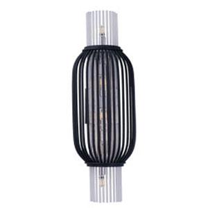 Aviary Anthracite LED Five-Light Mini Pendant