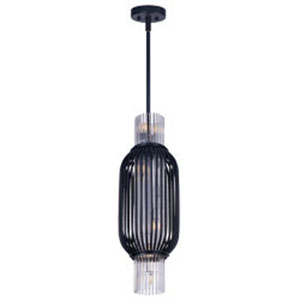 Aviary Anthracite LED Eight-Light Mini Pendant