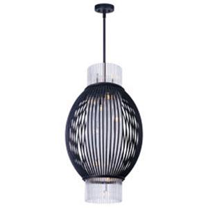 Aviary Anthracite LED 10-Light Pendant