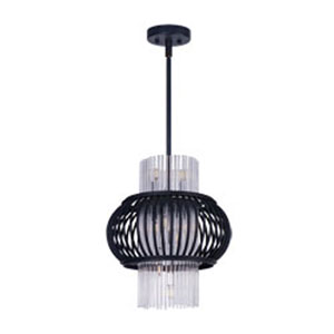 Aviary Anthracite LED 12-Light Pendant