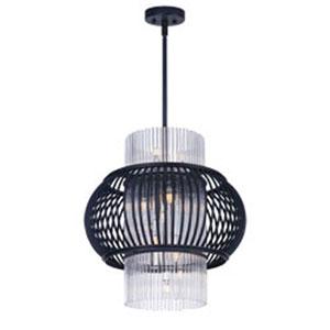 Aviary Anthracite LED 13-Light 21-Inch Pendant