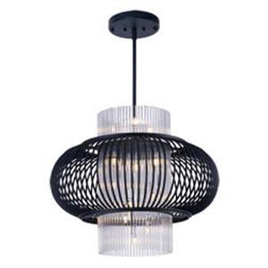 Aviary Anthracite LED 13-Light 28-Inch Pendant