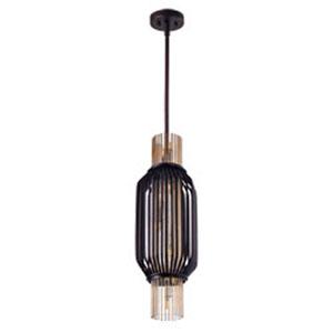 Aviary Oil Rubbed Bronze LED Eight-Light Mini Pendant