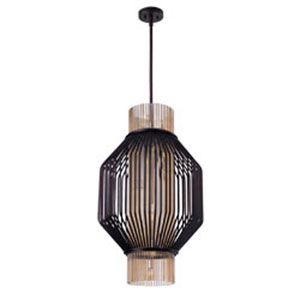 Aviary Oil Rubbed Bronze LED 10-Light Pendant