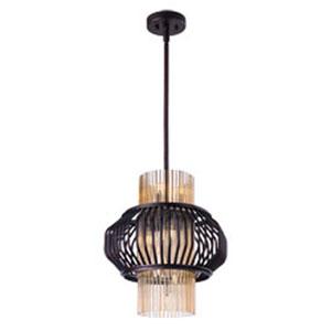 Aviary Oil Rubbed Bronze LED 12-Light Pendant