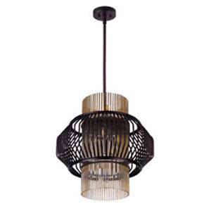 Aviary Oil Rubbed Bronze LED 13-Light 20-Inch Pendant