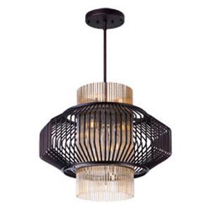 Aviary Oil Rubbed Bronze LED 13-Light 27-Inch Pendant