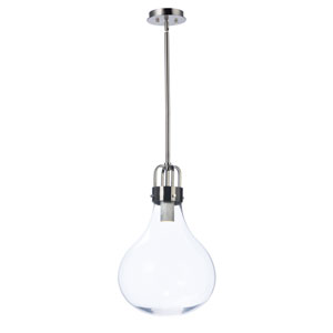 Kinetic LED Dark Satin Nickel LED Pendant