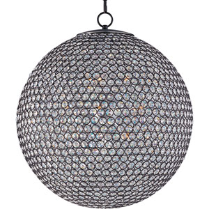 Glimmer Bronze Twelve-Light Chandelier