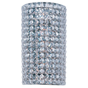 Vision Polished Chrome Three-Light Wall Sconce